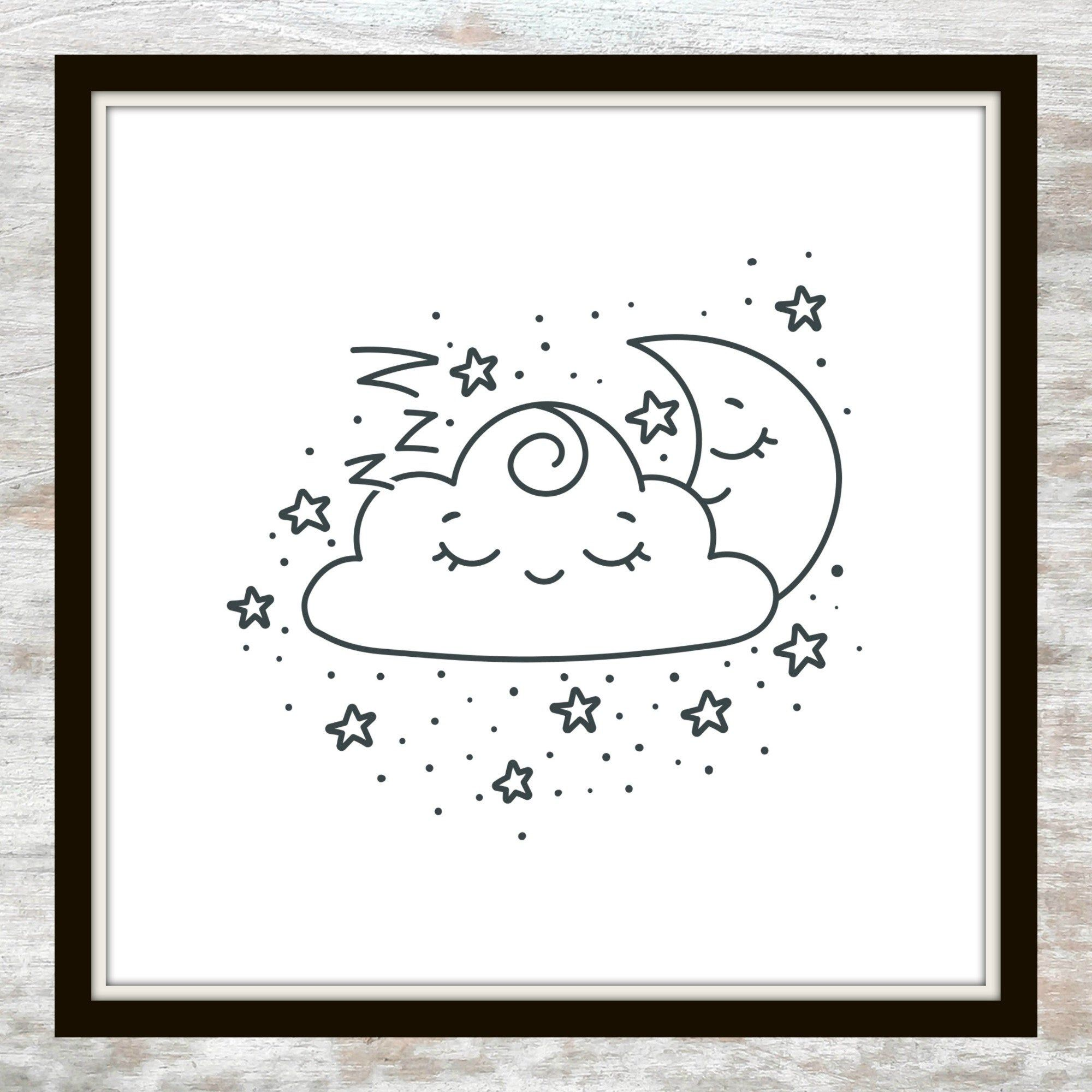 Goodnight Moon Coloring Pages Printable