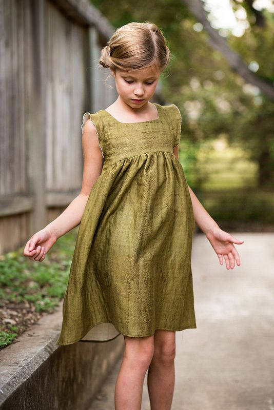 Stitched Together: The Bohemian Babydoll Dress   Sewing / DIY / Kids ...