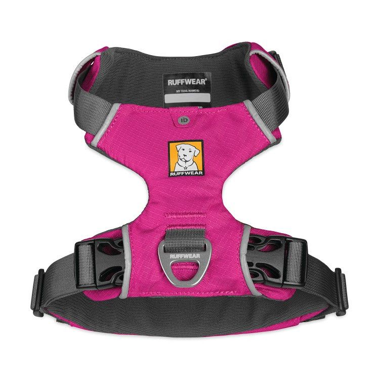 Ruffwear Front Range Dog Harness Jasper: Pink, Small Gemma: Orange ...