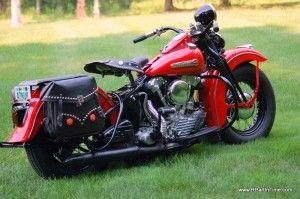 Vintage Harley.
