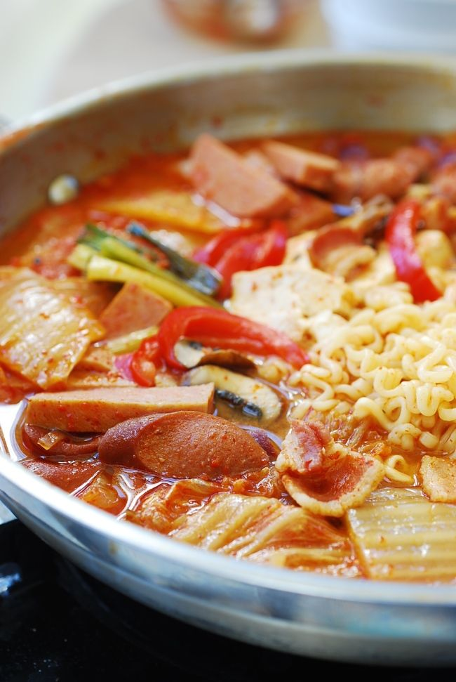 Budae Jjigae Army Stew Recipe Spam Recipes That May Surprise
