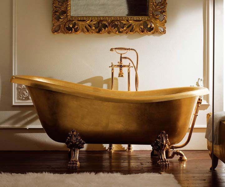 Vasche Da Bagno Vintage : Bagno vintage vasca bianca specchio tonico u foto stock