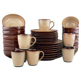 Amazing Sango Nova Brown and and Nova Black Stoneware Dinnerware Set 80 Piece - Bundle  sc 1 st  Pinterest & Amazing Sango Nova Brown and and Nova Black Stoneware Dinnerware Set ...