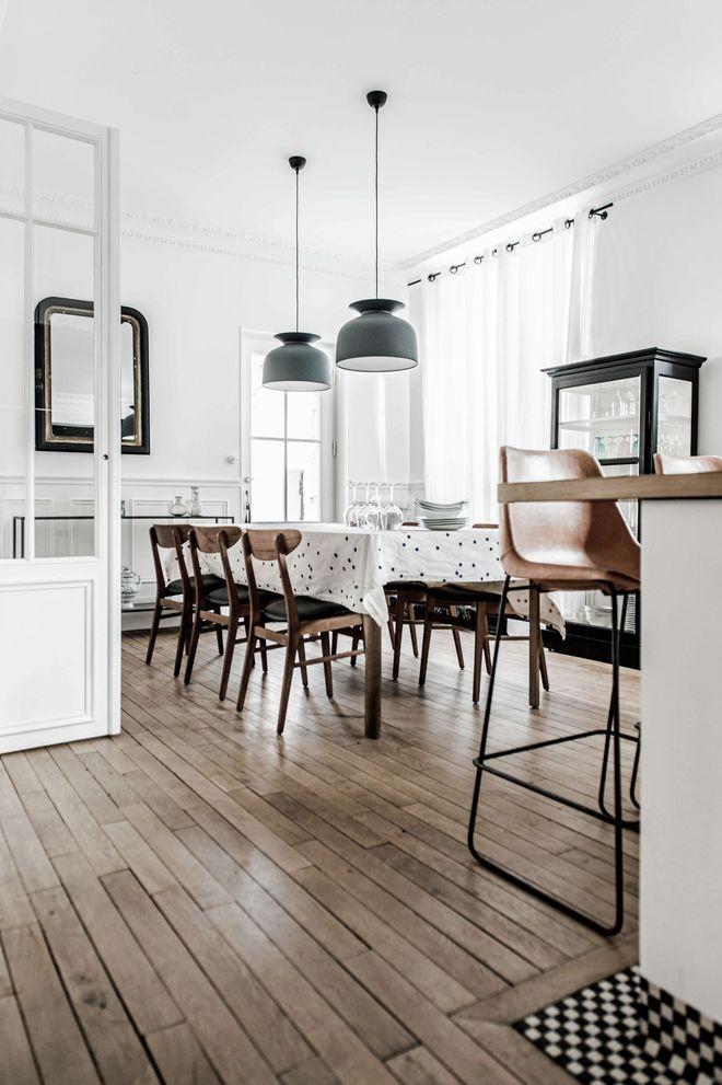 Maison fontainebleau 300 m2 adoptent la tendance broc chic