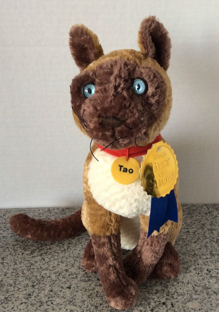 "The Incredible Journey Tao Plush Cat Disney Store 13"" Stuffed Animal NWT NEW #disney #Tao #plush #ebay"