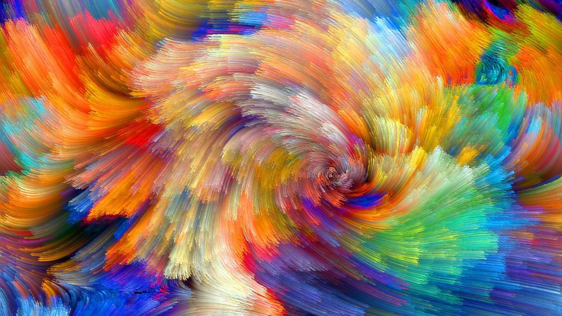 Amazing Colorful Backgrounds HQ Abstract poster