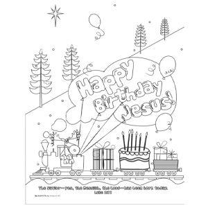 101541edb830ded66b4164042271ba17 » Happy Birthday Jesus Color Pages