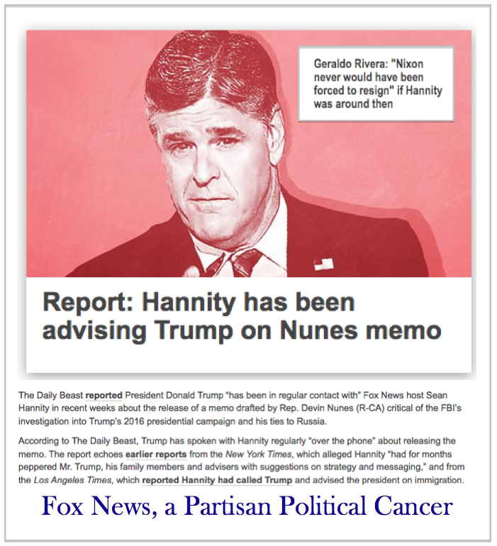 Sean Hannity Has Been Advising Trump On Nunes Memo  Geraldo