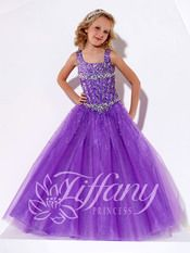 Beautiful Tiffany Princess Pageant Gown 13391 | Pageant Gown