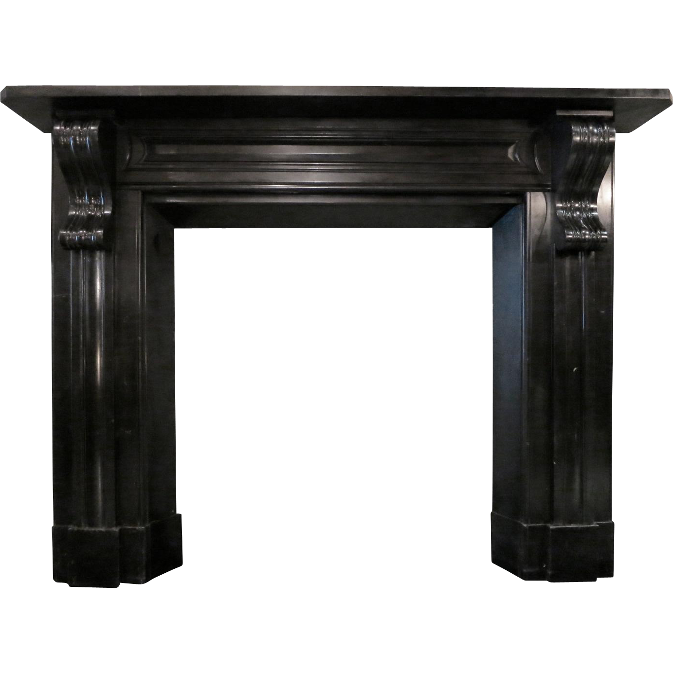 Incredible An Antique Early 19Th Century Irish Black Marble Fireplace Download Free Architecture Designs Boapuretrmadebymaigaardcom