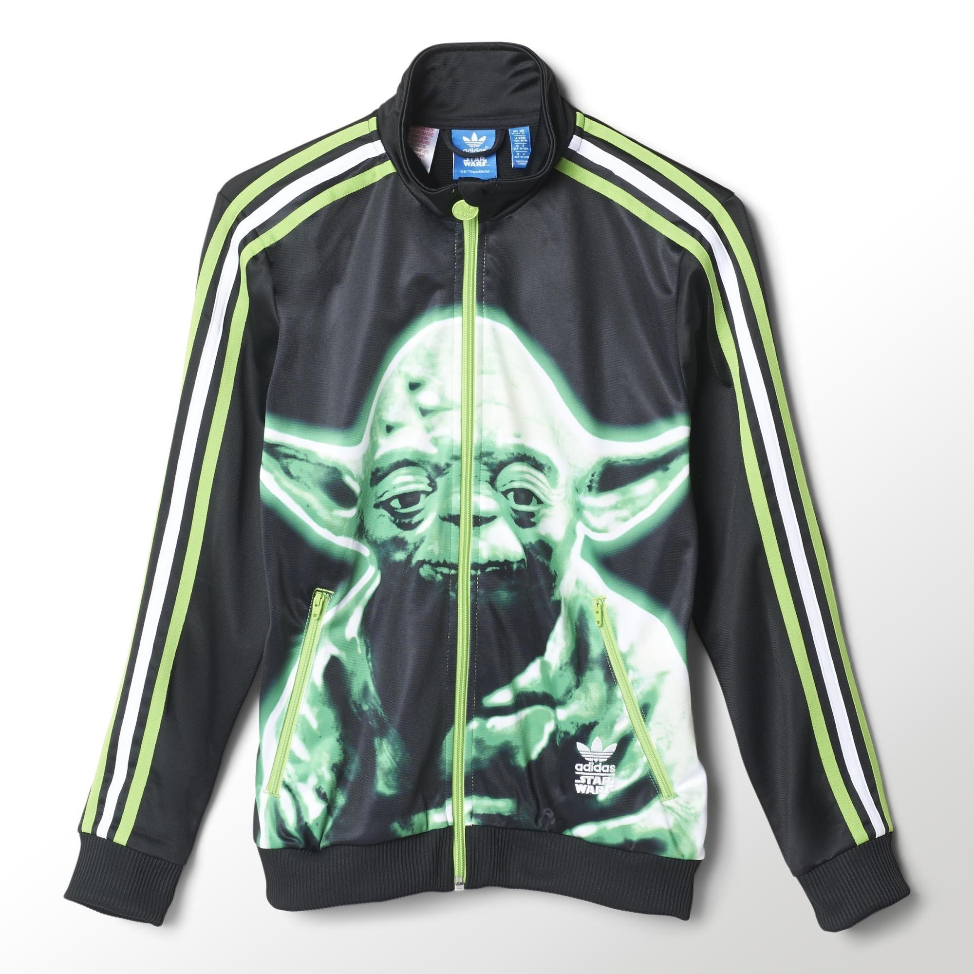adidas star wars jacket kids