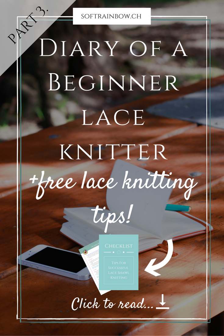 Guest Post: Diary of a beginner lace knitter Part 3 | Knitting ...