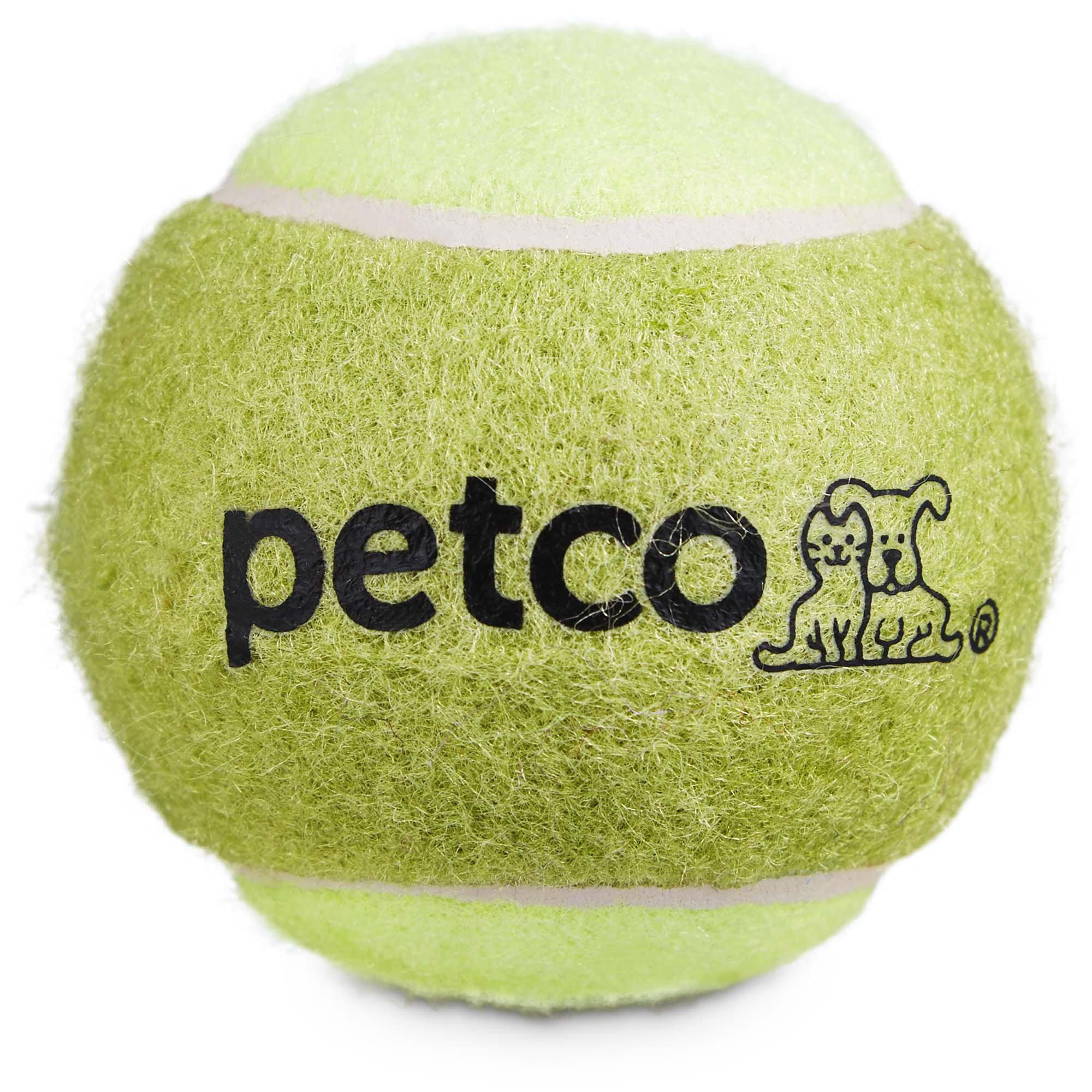 Tennis Ball Dog Toy In Green 2 5 Dog Toys Wild Bird Food Dogs