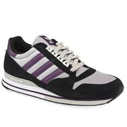 Adidas Male Zx 500 Suede Upper in Black and Purple ADIDAS Zx