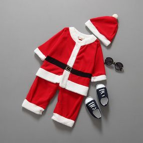 af3f798ba9e Baby Clothes Autumn Winter Christmas Baby Boys Girls Christmas Costume One  Piece Romper Baby Clothes
