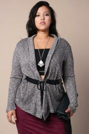 Shop Plus Size Sweaters & Cardgians − G-Stage