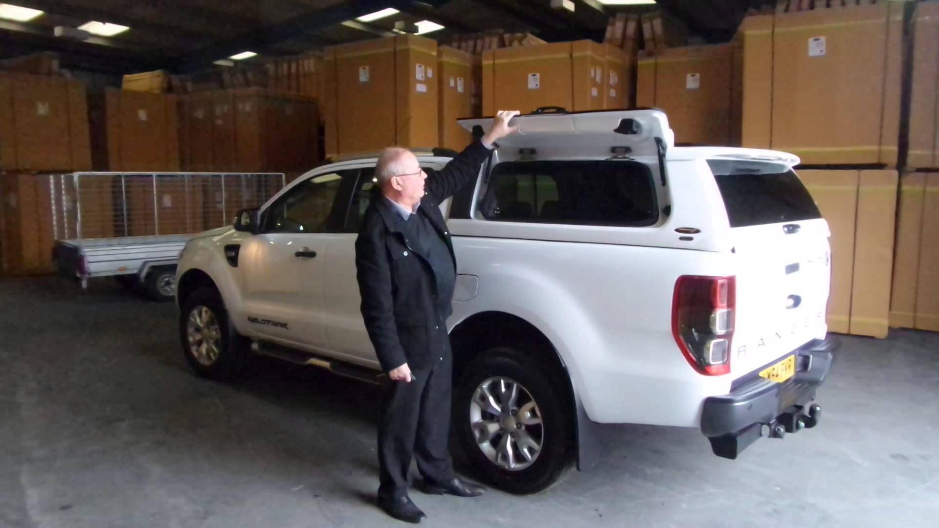 Ford ranger mk5 avantgarde hard top http pegasus4x4 com
