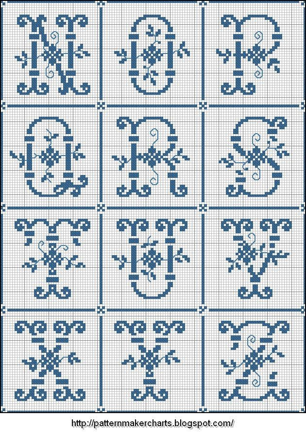 Free Easy Cross, Pattern Maker, PCStitch Charts + Free Historic Old ...