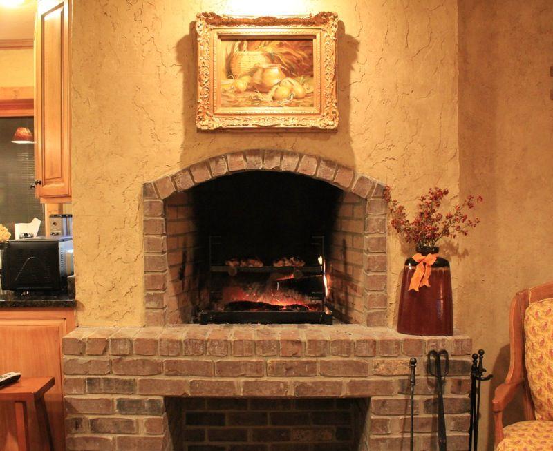 january 2013 lake lure cottage kitchen kitchen fireplace