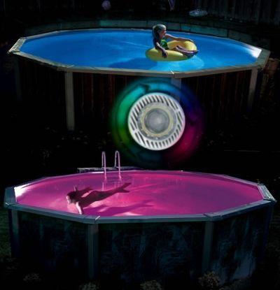 Home Color Aqua Luminator Above Ground Pool Light Above Ground Pool Lights Pool Light In Ground Pools
