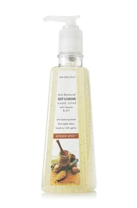 Kitchen Spice My favorite hand soap; one of the few Bath