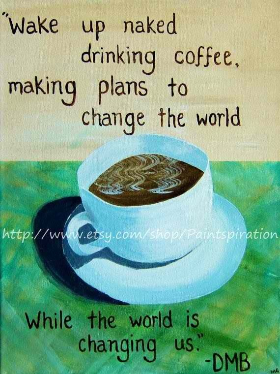 dave matthews band song lyrics art quote canvas paintings coffee