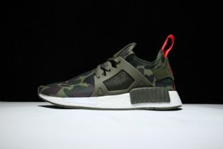 Adidas NMD Runner XR1 Camo Pack Olive Green White S32218 M