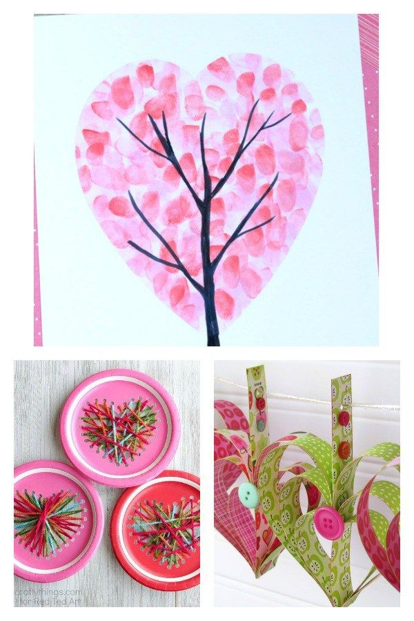 16 Kids Valentine Heart Craft Ideas Valentines For Kids Easy
