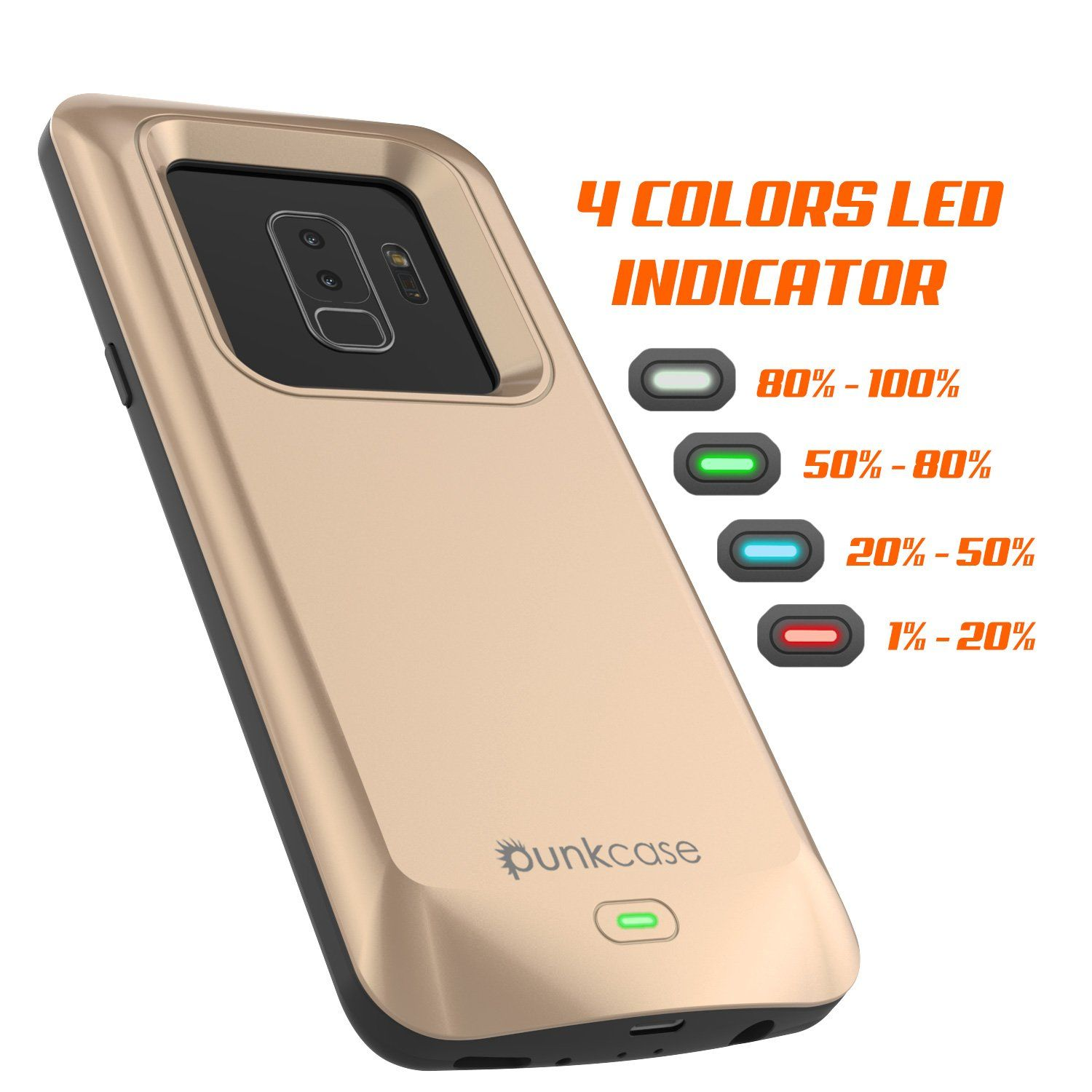 new product 9be3a 930b5 Galaxy S9 PLUS Battery Case, PunkJuice 5000mAH Fast Charging Power ...