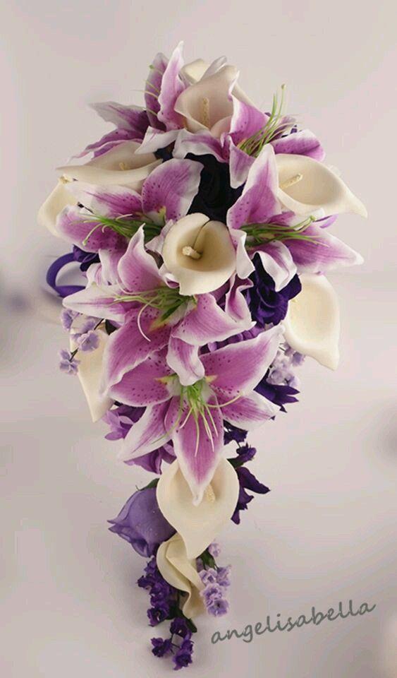 Bouquet In 2019 Lily Bouquet Wedding Calla Lily Wedding Calla