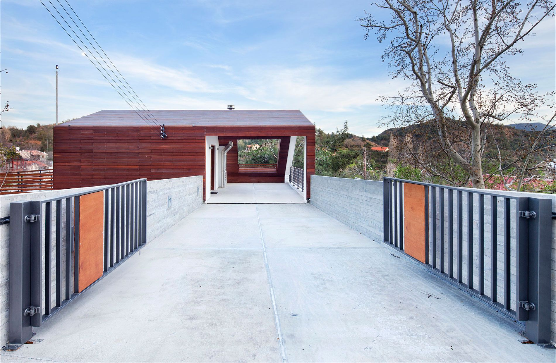 serafides house by vardastudio fences pinterest house