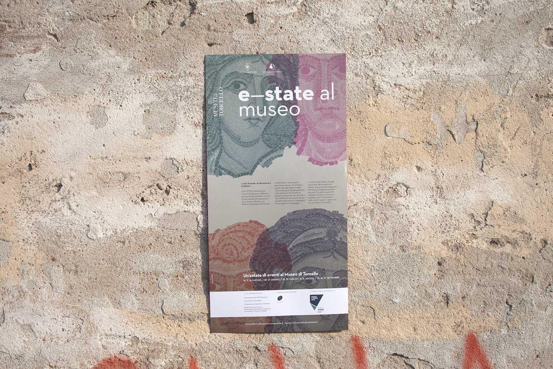 E-state al museo, Museo di Torcello, leaflet —hstudio