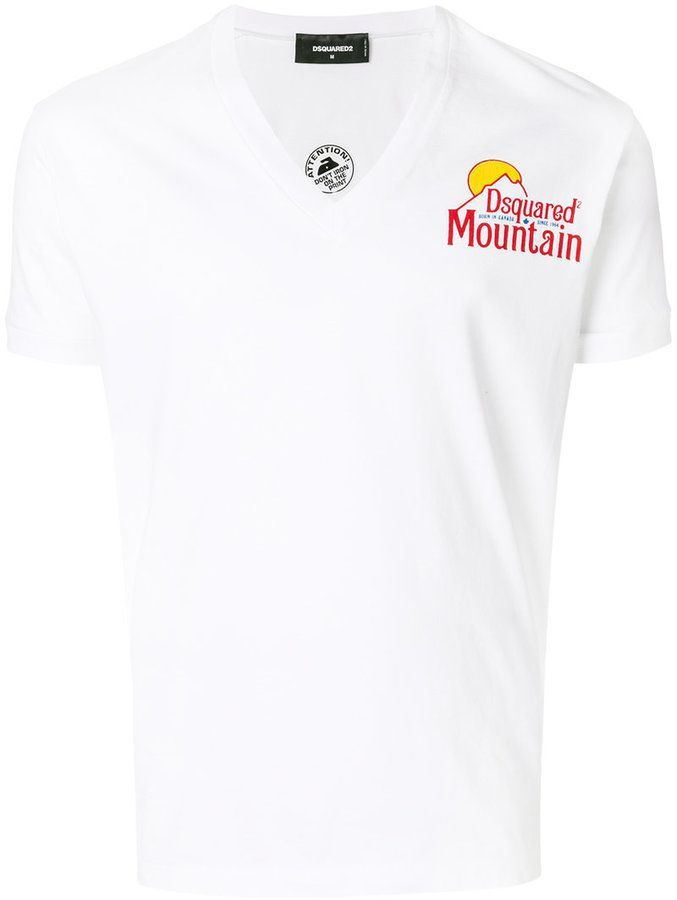 Dsquared2 Mountain T Shirt Products Dsquared2 T Shirt Shirts