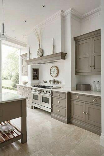 Double Oven U0026 Colour Design · Beige KitchenGray ...
