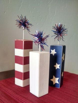 26 Insane Clever July 4th Wood Craft Ideas - images