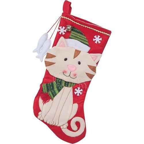 Bota Gatinho do Papai Noel - Christmas - Americanas.com