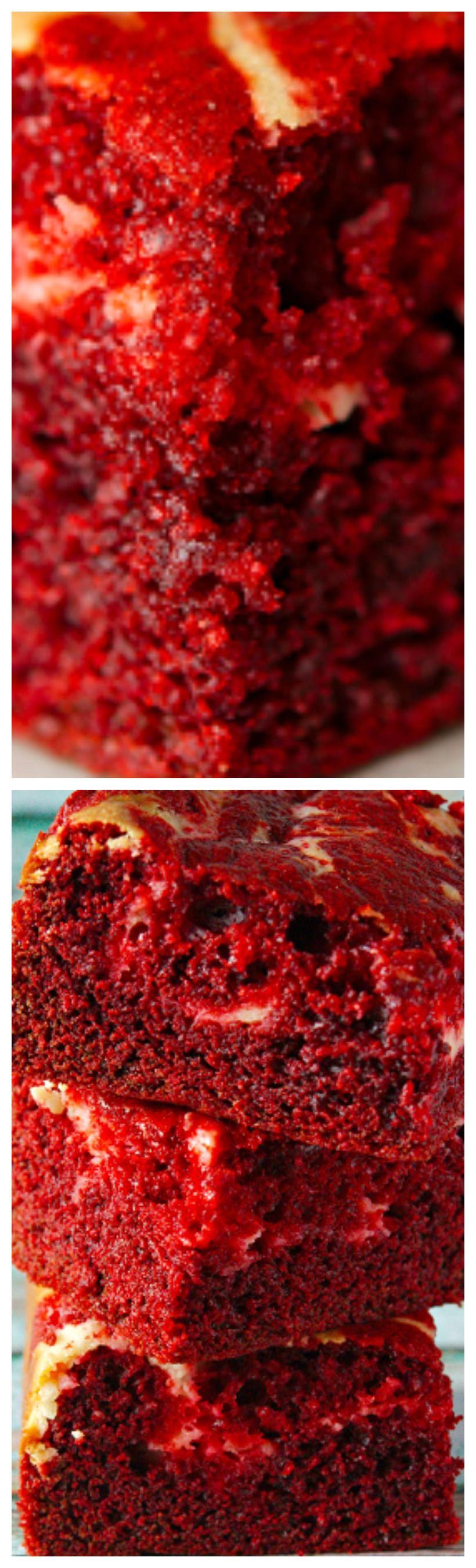 Red Velvet Cheesecake Brownie Recipe #redvelvetcheesecake
