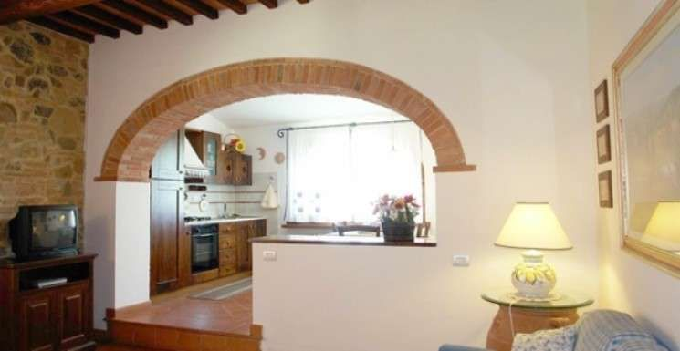 Cucina e soggiorno separati | case | Pinterest | Cucine, Soggiorno e ...