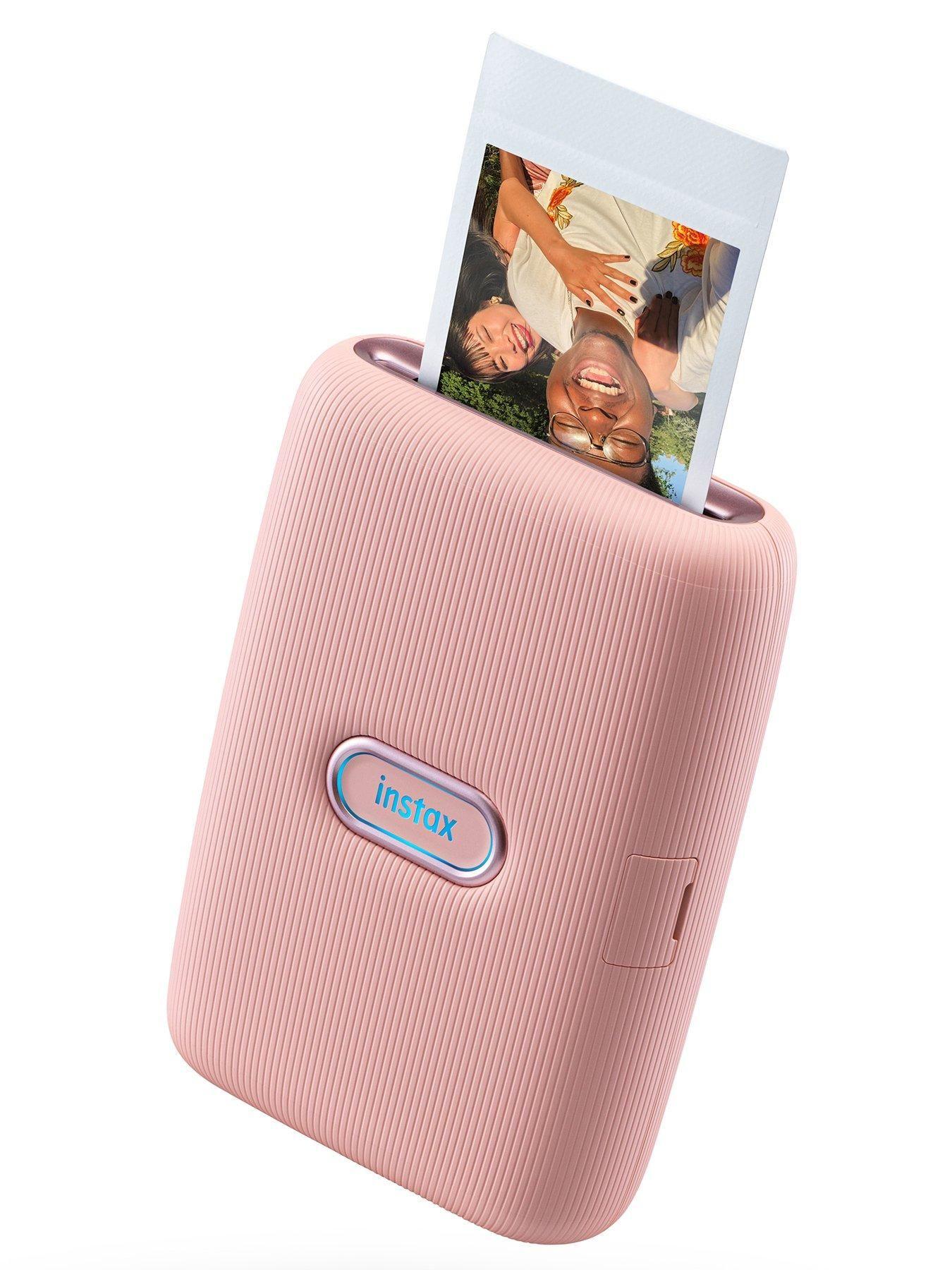 Fujifilm Instax Fujifilm Instax Mini Link Printer (Dusty Pink) Inc 20 Shots - +…