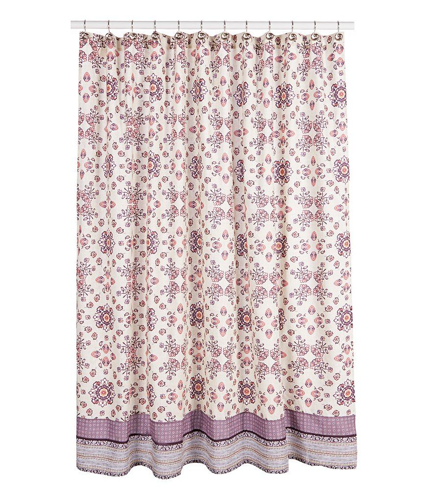 Jessica Simpson Lola Medallion Shower Curtain With Images