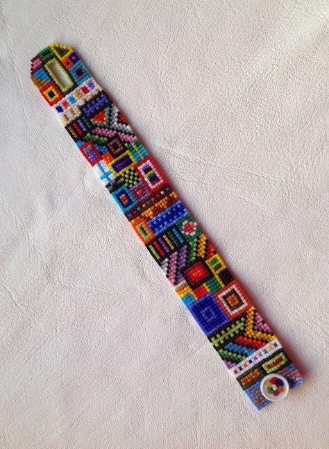 beaded loom bracelet: 10 тыс изображений найдено в Яндекс ...