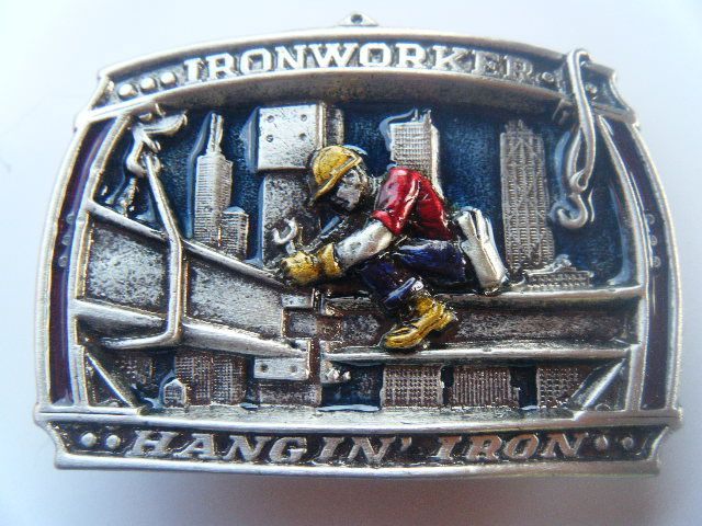 Iron Worker Ironworker Metal Construction Tall Building