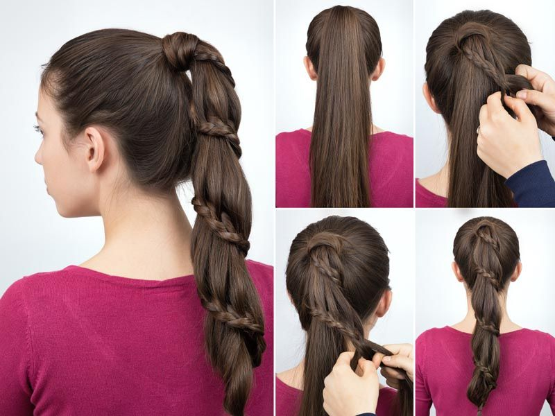 50 Simple And Easy Long Hairstyles For Women To Do At Home In 2020 Tail Hairstyle Hair Styles Easy Hairstyles