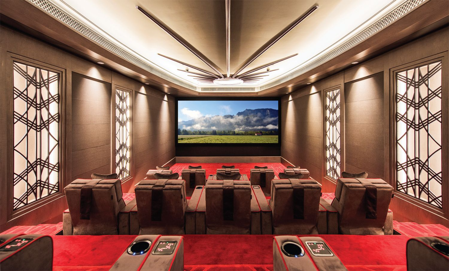 Awards 2015 Winner In Best Home Cinema Over MACBEE Pvt Ltd India An Elegant And Well Thought Out Room Which Exceeds The Clients Expectations