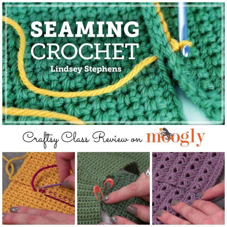 Verschließmaschinen Crochet mit Lindsey Stephens - eine Klasse gewerblichen Bewertung auf Moogly!