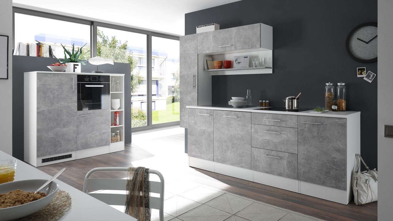 Küchenfront Betonoptik