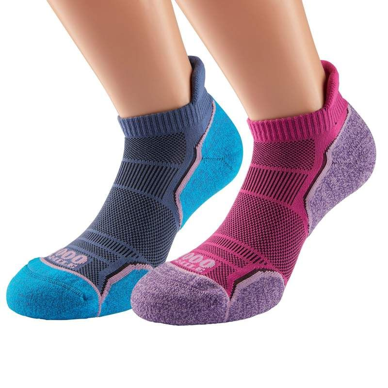 Women's Run Socklet Twin Pack – 1000-mile