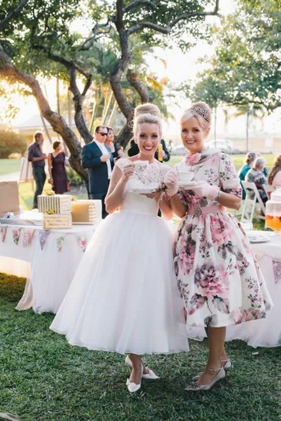 Beroemd Vintage stijl trouwjurk jaren 50 | brulfte - Wedding dresses @CN61