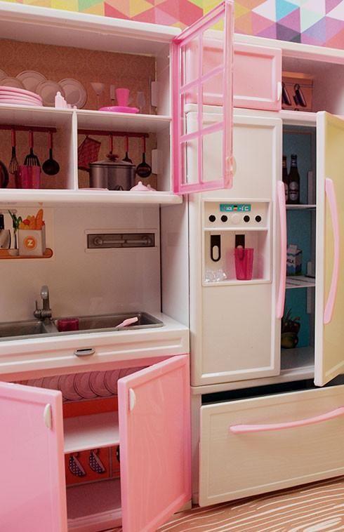 Barbie 4 Piece Vogue Modern Kitchen Set Barbie Pinterest
