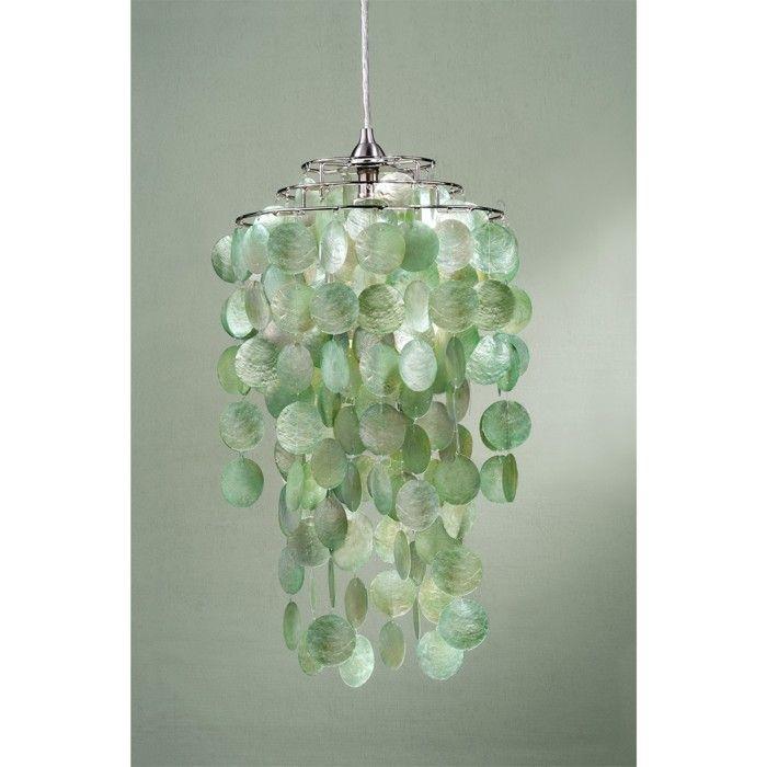 Capiz Shells for Sale | Laura Ashley Cream Capiz Shells Pendant Lighting  Nickel | eBay